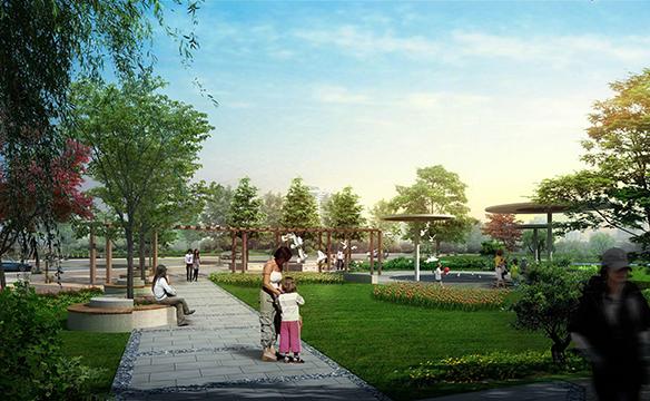 天台县中心城区规划图