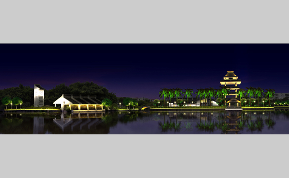 漳浦西湖公园 高清图片